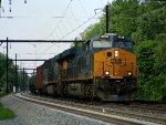 CSX 3058 leads K138